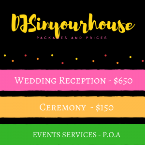 Wedding DJ Prices